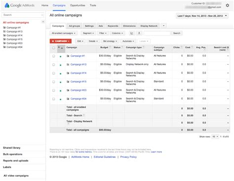 Search My Email Id Find Your Customer Id Adwords Help