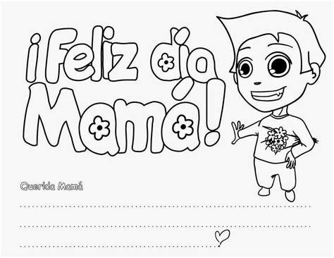 dia de mam enferma reflexiones dibujos del d 237 a de la madre para colorear en el colegio