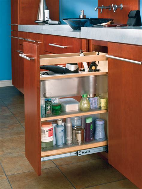 Bathroom Cabinet Organizer by Shelves That Slide Cabinet Pullout Grooming Organizer For