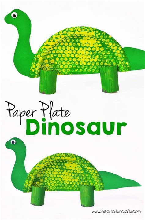 dinosaur craft projects paper plate dinosaur craft dinosaur crafts paper