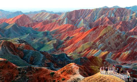 imagenes de flores asombrosas las asombrosas monta 241 as de colores de zhangye danxia