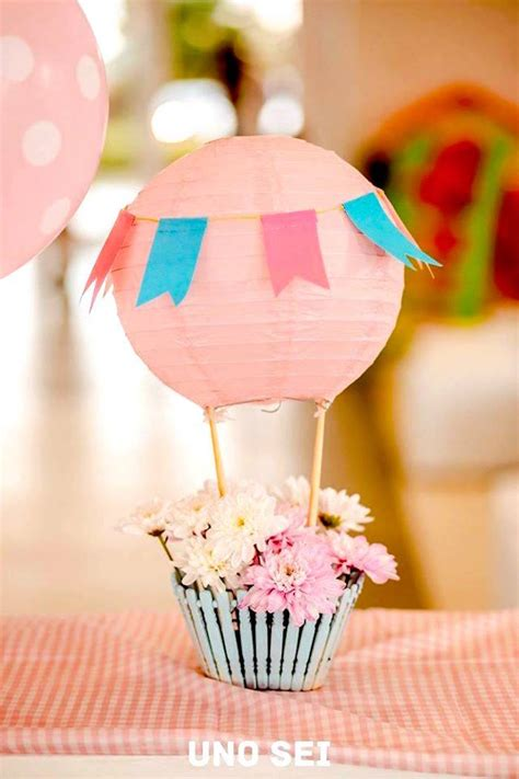 Kara s party ideas 187 shabby chic hot air balloon party