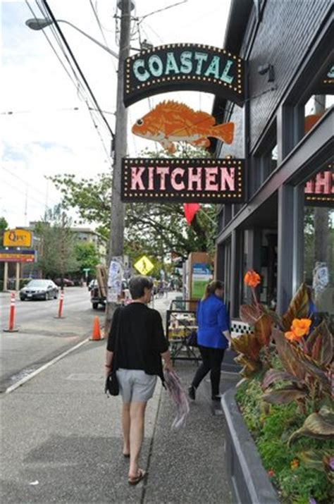 Coastal Kitchen Seattle Wa by Black Bean Burger With Fries Picture Of Coastal Kitchen