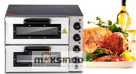 mesin oven listrik 2 rak murah untuk usaha bakery toko