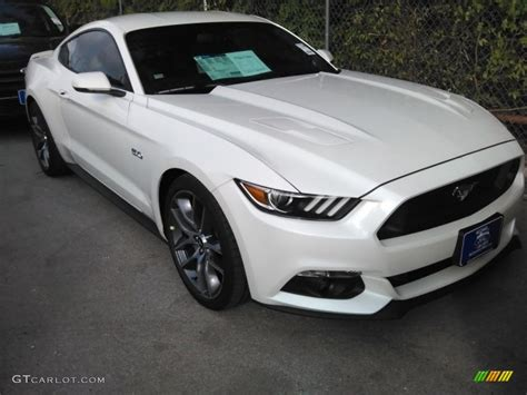 white mustang gt 2017 white platinum ford mustang gt premium coupe