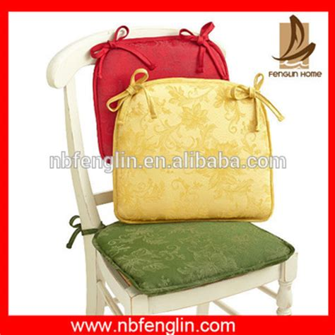 thin chair pads with ties sale color cotton thin chair pad with ties buy
