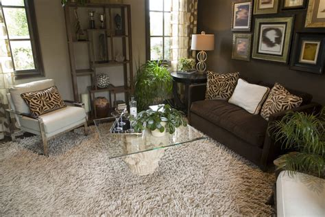 animal print rug and pillows living room family room 46 swanky living room design ideas make it beautiful