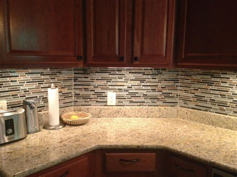 How To Install A Glass Tile Backsplash In The Kitchen by Backsplash Joy Studio Design Gallery Best Design