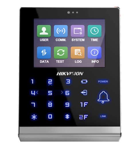 Hikvision Ds K1t105e Access standalone access terminal dixys distributeur