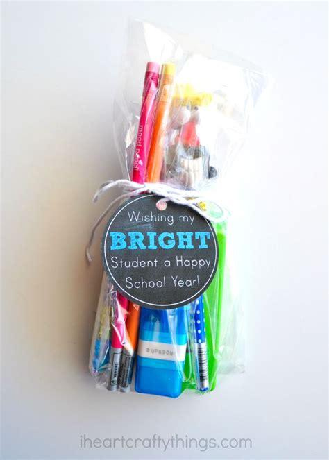 back to school gift with back to school gift with printable gift tag i