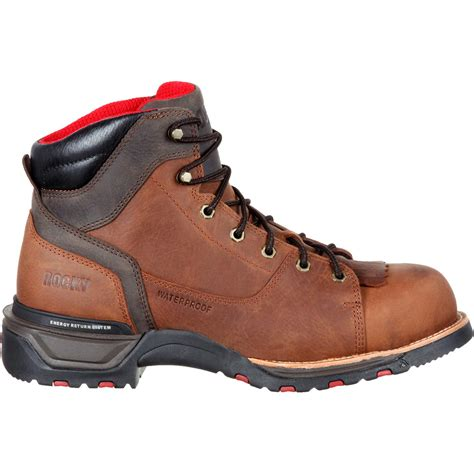 most comfortable composite toe boots rocky technoram comfortable composite toe waterproof work