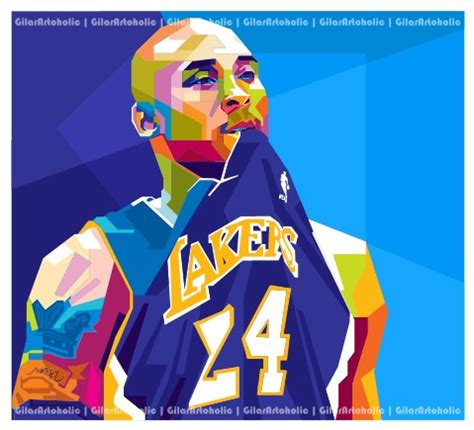 basketball pop art paintings kobe bryant pop art by gilar666 on deviantart