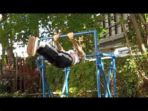 pull up bar in backyard homemade pullup and monkey bar system vidoemo
