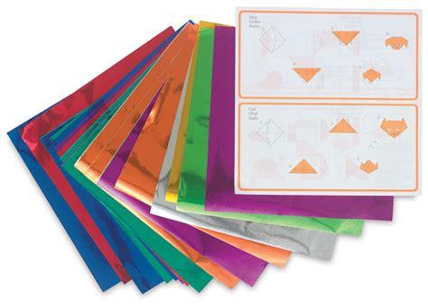 Foil Origami Paper - aitoh color foil origami paper blick materials