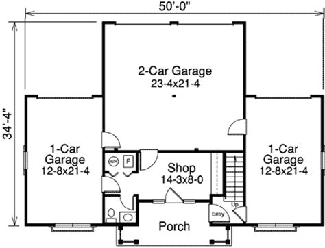 shop plans with apartment four car apartment garage with shop 57113ha