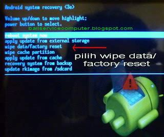 reset android email lupa email pasword kunci pola layar reset recovery android
