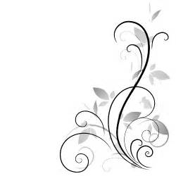 classy black and white clipart transparent