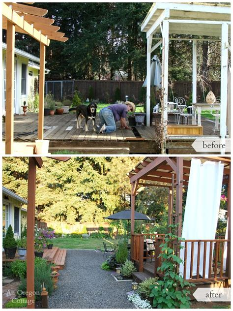 backyard renovations before and after 15 inspiring backyard makeover projects you may like to do