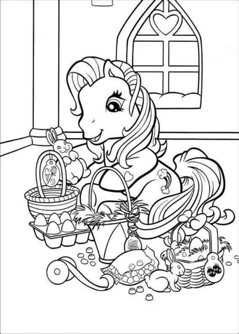 my little pony easter coloring page easter basket coloring page coloring home