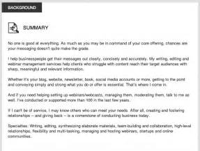 3 stunningly linkedin profile summaries
