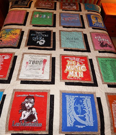T Shirt Quilt Patterns Free by Drop Shadow T Shirt Quilt Duffey Flickr