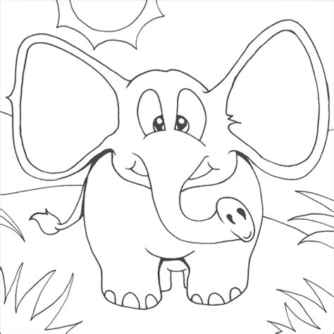 elephant piggie coloring page coloring home elephant and piggie coloring page coloring home
