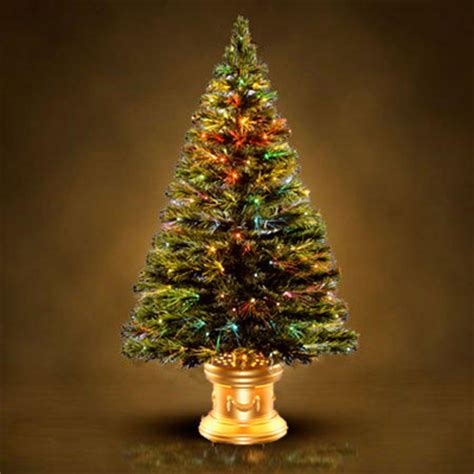 fiberoptic christmas tree princess decor