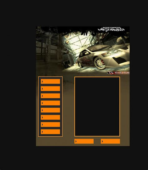 div layouts free div layouts orange black car div layout
