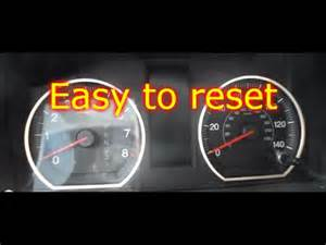 Reset Maintenance Light Toyota Prius 2008 How To Reset On A Honda Crv