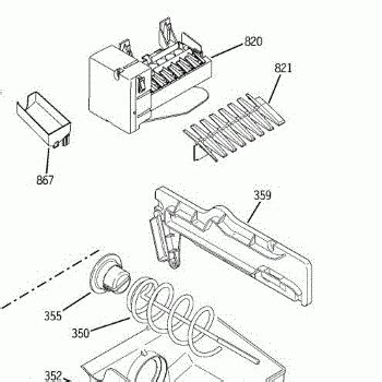 ge refrigerator maker parts diagram ge maker parts diagram automotive parts diagram images
