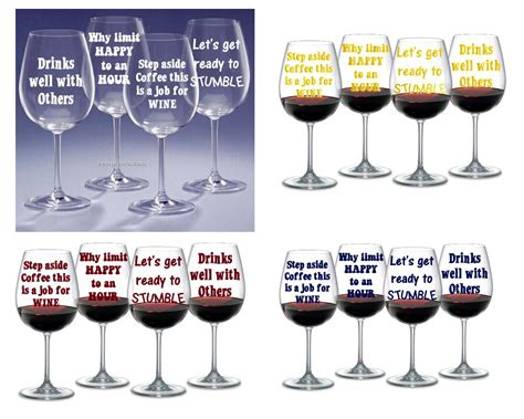wine glass sayings svg 9 wine glass sayings digital cutting files instant
