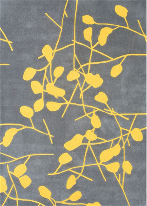 Grey And Yellow Rugs by Festival Grey Canary Yellow Rug Modern Rugs By Allmodern