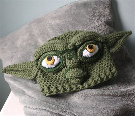 crochet pattern yoda ears the o jays originals and hats on pinterest