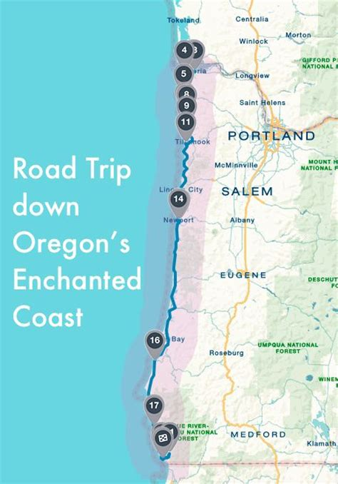 oregon west coast map des moines trip may2016 on alaska cruise beaches and