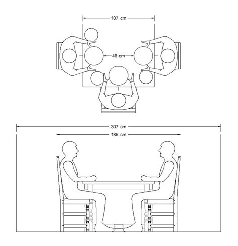 How To Size A Dining Room Table by A Guide To Choosing The Ideal Dining Table Width