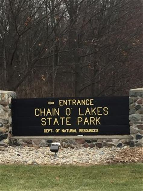 state park picture of chain o lakes state park albion