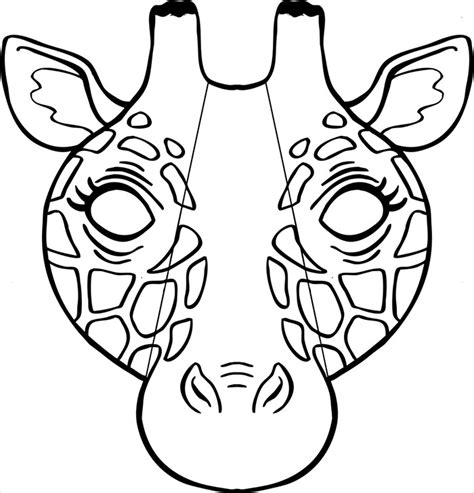 Animal mask template animal templates free amp premium templates