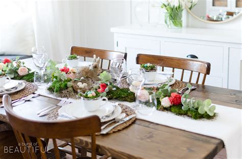 Toddler Bedroom Ideas Floral And Moss Easter Tablescape A Burst Of Beautiful
