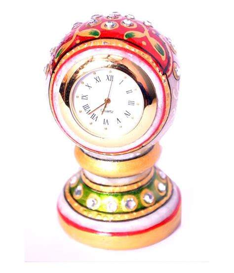 Handcrafted Clocks - aura multicolor handcrafted clock buy aura multicolor