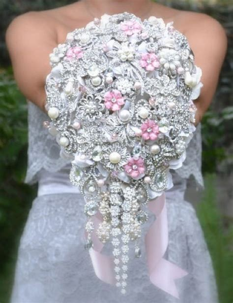 Wedding Bouquet Jewellery by Repurposed Jewelry Wedding Bouquet The Day My Tale