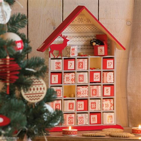 Calendrier De L Avent En Bois A Decorer by Calendrier De L Avent En Bois 224 D 233 Corer Maison Ouverte