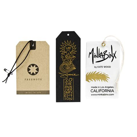 custom tags for custom hang tags wholesale clothing hang tags cbf label