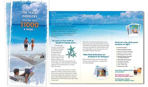 Travel Agency Brochure Hunecompany Com Travel Brochure Maker