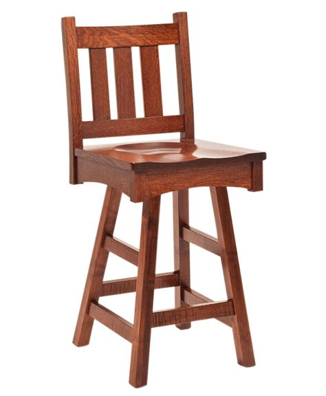Mission Bar Stool by Vintage Mission Bar Stool Amish Direct Furniture