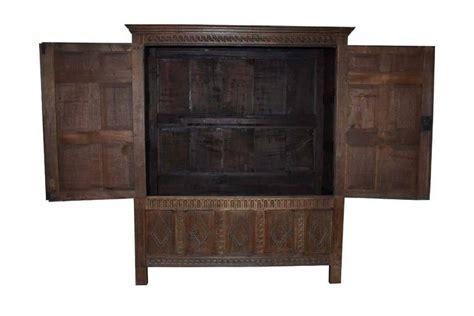Oakwood Cabinets by 17th Century Jacobean Oakwood Cabinet Or Wardrobe For Sale