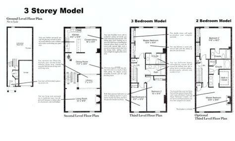3 storey townhouse floor plans the luxury condominium complex of stornwood estate
