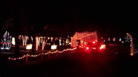 holiday lights  murphy park dubuque iowa youtube