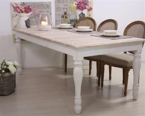tavoli shabby chic tavolo legno bianco shabby chic etnico outlet mobili etnici