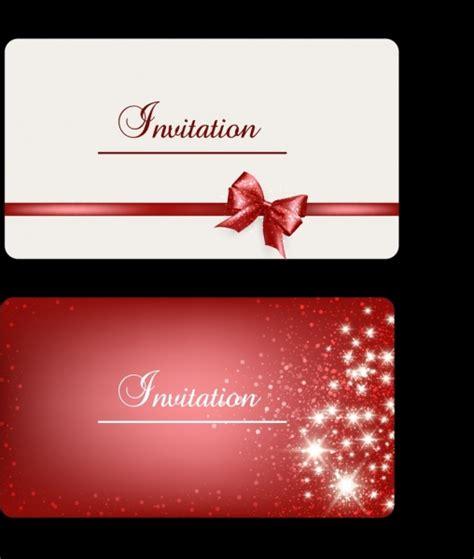 invitation card design ai file invitation card cover background ribbon sparkling stars