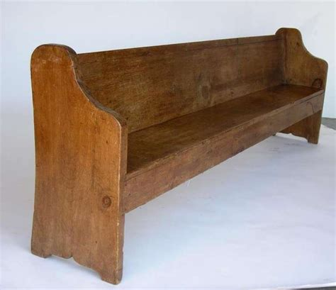 church benches antique guatemalan church pew at 1stdibs